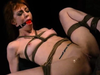 Anal slave and pole tied bondage Soon after arriving at