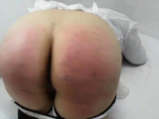 hard cane punishment for Julia 19