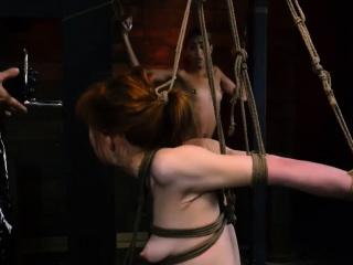 Bisexual bondage Sexy youthful girls, Alexa Nova and