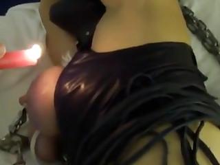 Hot wax play