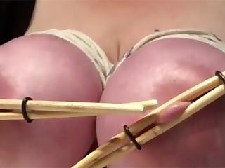 Chopsticks on nipples
