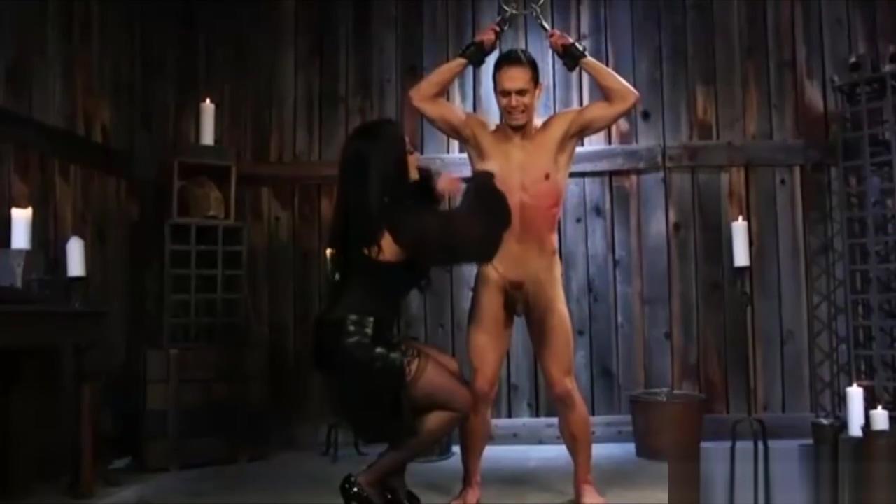 Lusty Mistress Spanking Her Slave Boy