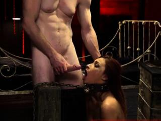 Pussy slave and brutal anal fetish Poor little Jade