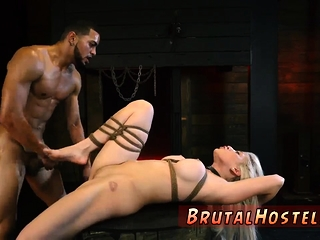 Chubby bdsm Big-breasted light-haired cutie Cristi Ann is on