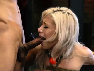 Extreme rough gangbang Big-breasted ash-blonde bombshell