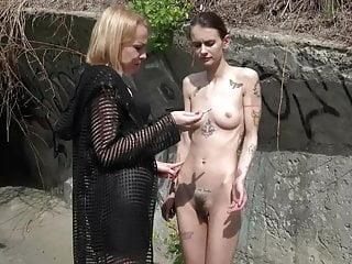 Lady Aurora and Slavegirl Suzi