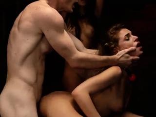 Bondage tickling compilation and mummy fuck Two youthful slu