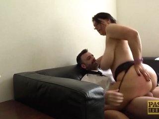 PASCALSSUBSLUTS - Huge Tits Sabrina Jade Riding For Facial