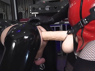 Sissy Fuck mare is broken in anally