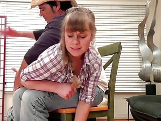 Stevie's severe and tearful spanking session