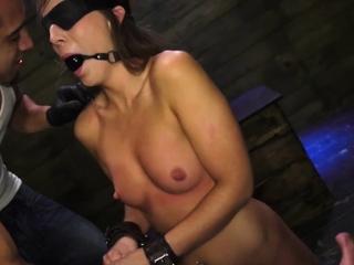 Bondage anal gang rough Last night, Kaylee Banks went to a s