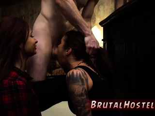 Milf foot domination and extreme hardcore brutal fucking