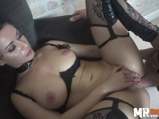 Stacy Bloom is a kinky brunette who doesnt mind being a sex slave, if needed