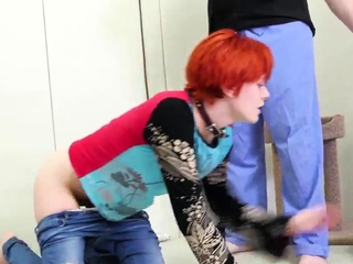 Redhead girl fucks girlally and mature german amateur Cummie