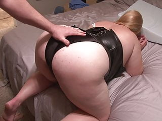 Short Little Blonde BBW Mom Got Butt Fucked
