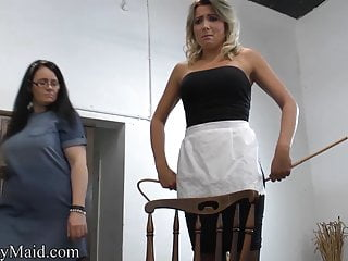Another Lazy Maid Caned