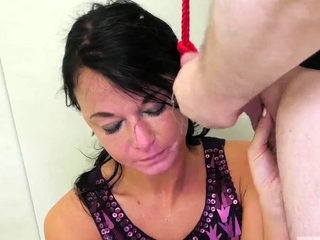 Bondage oral and tiny anal bdsm Talent Ho