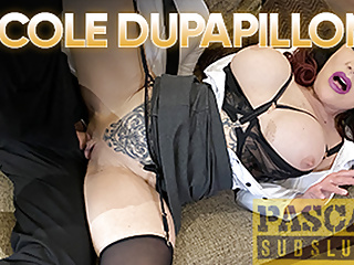 PASCALSSUBSLUTS Busty MILF Nicole Dupapillon Dominated