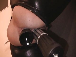 Amazing BDSM fucking machine