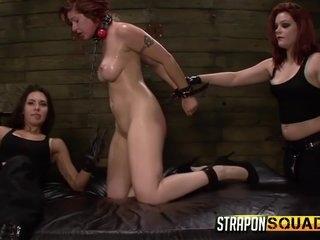 Hard Strapon Pounding
