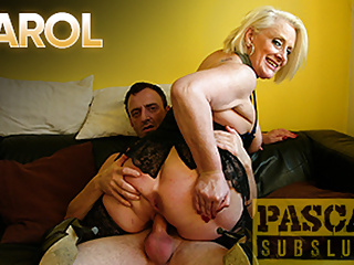 PASCALSSUBSLUTS - Submissive Mature Carol Assfucked Hard