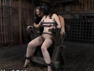 Pretty chick gets lusty cum-hole prodding