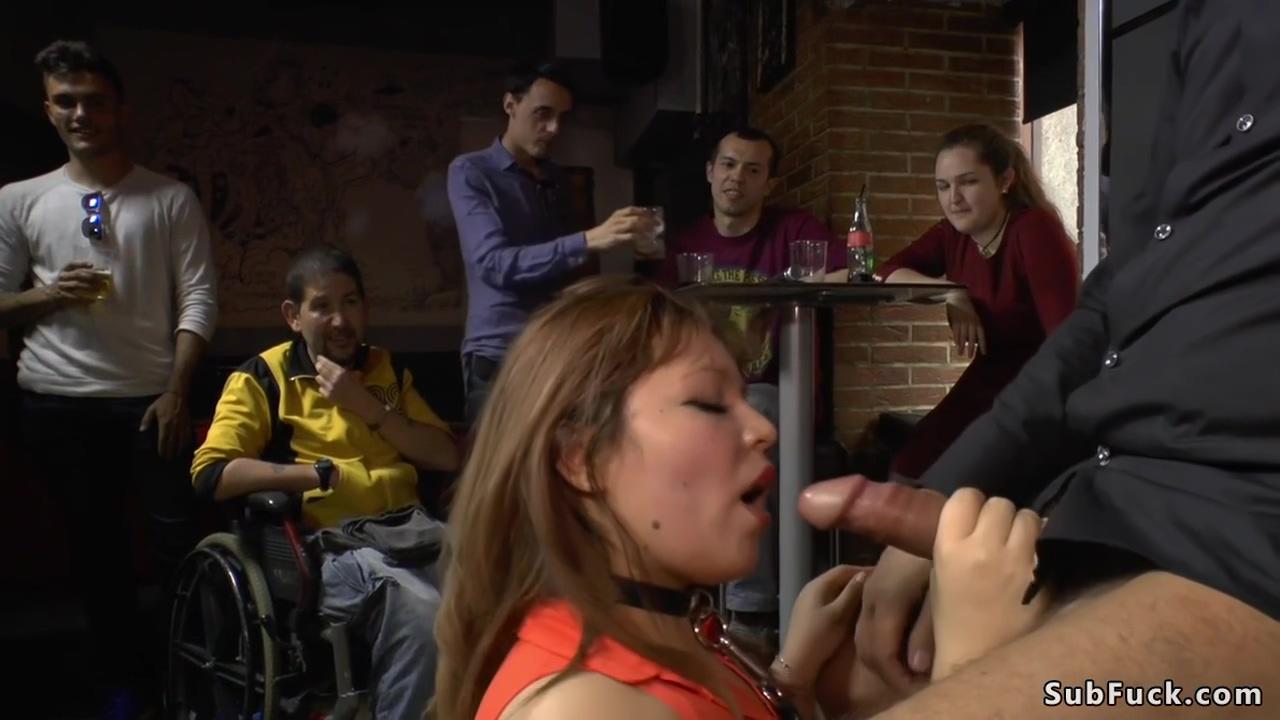 Steve Holmes - Japanese Slave Nipples Tormented In Public