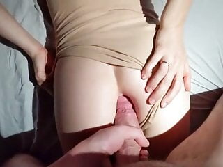 The first anal for an 18-year-old blonde – She hurts