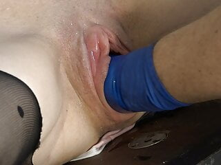 Pussy pumped and fisted