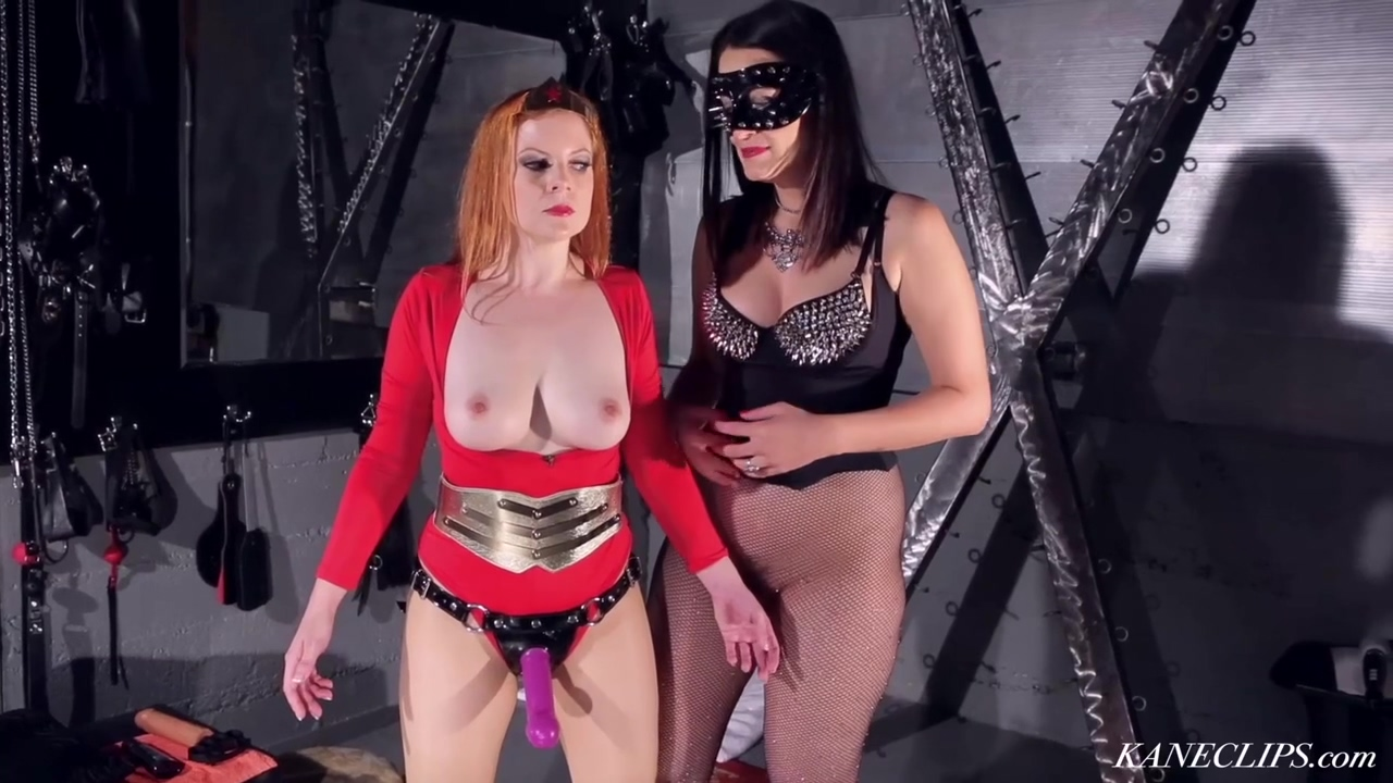 Superheroine Captured & Handcuffed In Femdom Bdsm Action