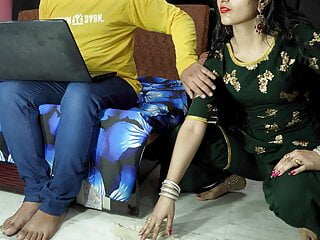 sexy indian maid sucking cock and fuck hindi audio
