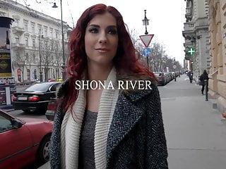 Smoking hot lesbians Monique Woods & Shona River lick their