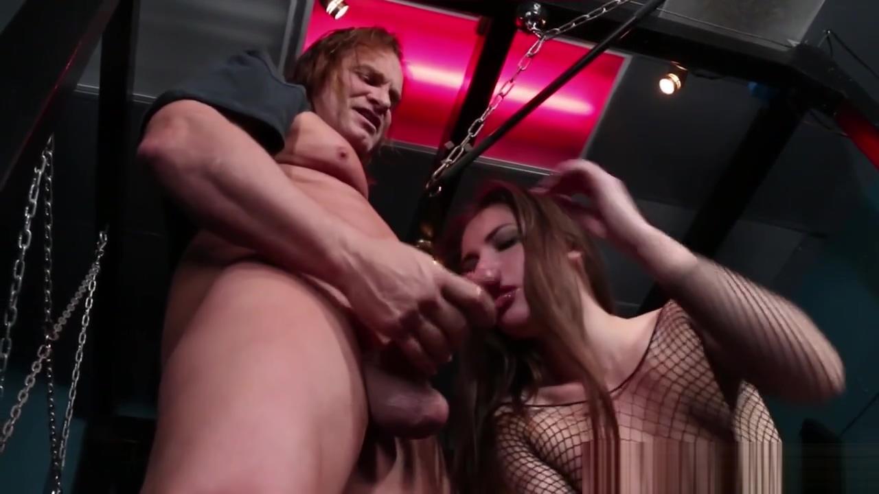 Bound sub ballsucking her maledom