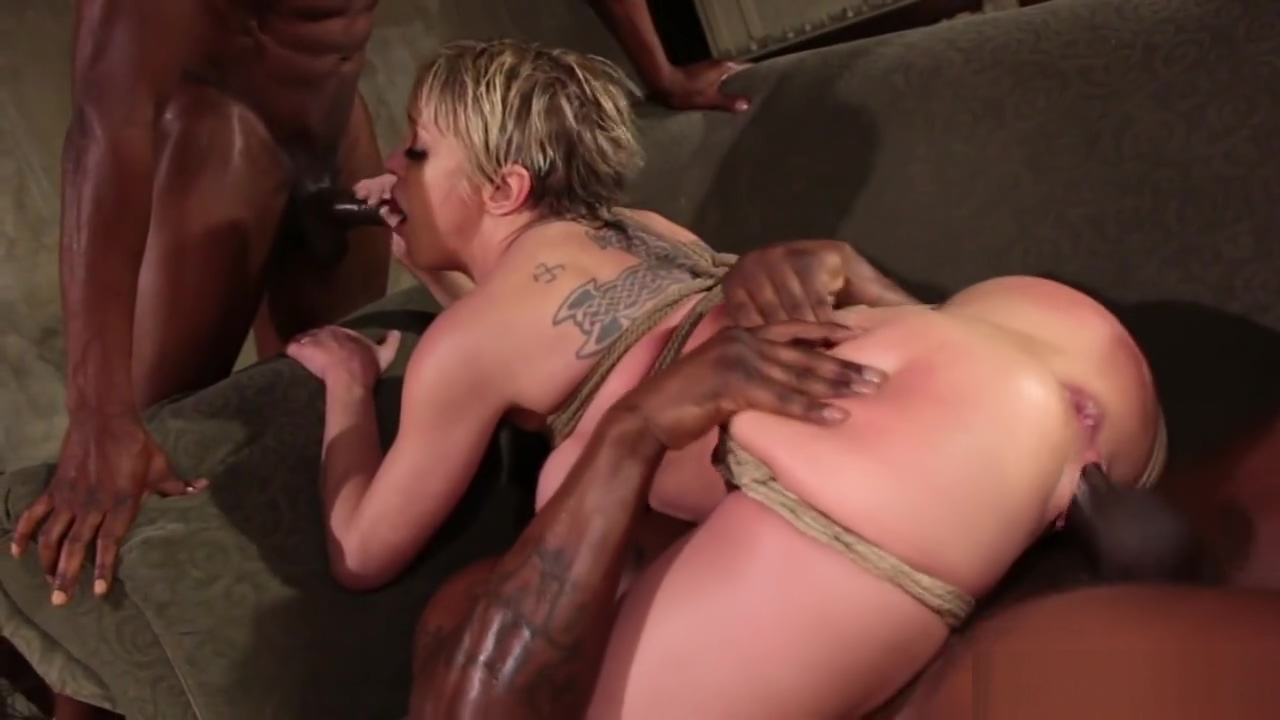 Interracial dp orgy bondage sex