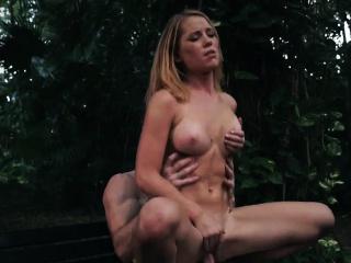 Teen stockings gangbang Raylin Ann is a sexy, steamy blond w